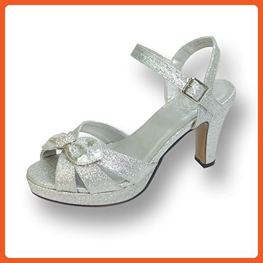 most popular genuine shoes buy good FIC FLORAL Elva Women Wide Width Evening Dress Sandal for Wedding ...