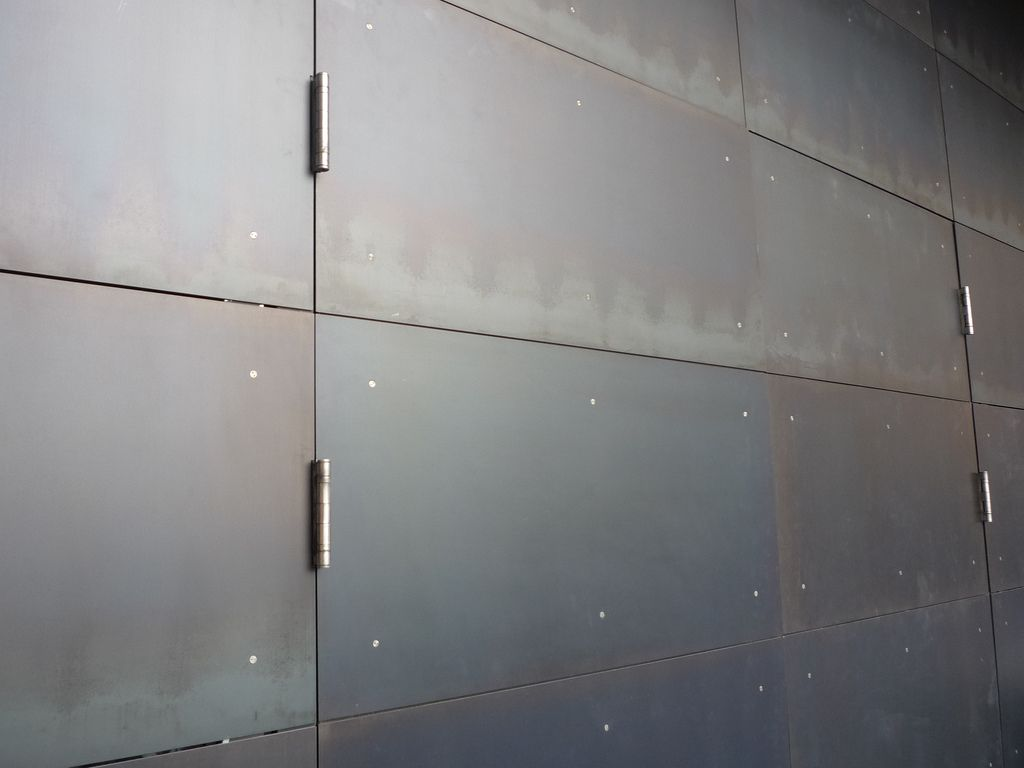 Hot Rolled Steel Steel Cladding Metal Cladding Blackened Steel