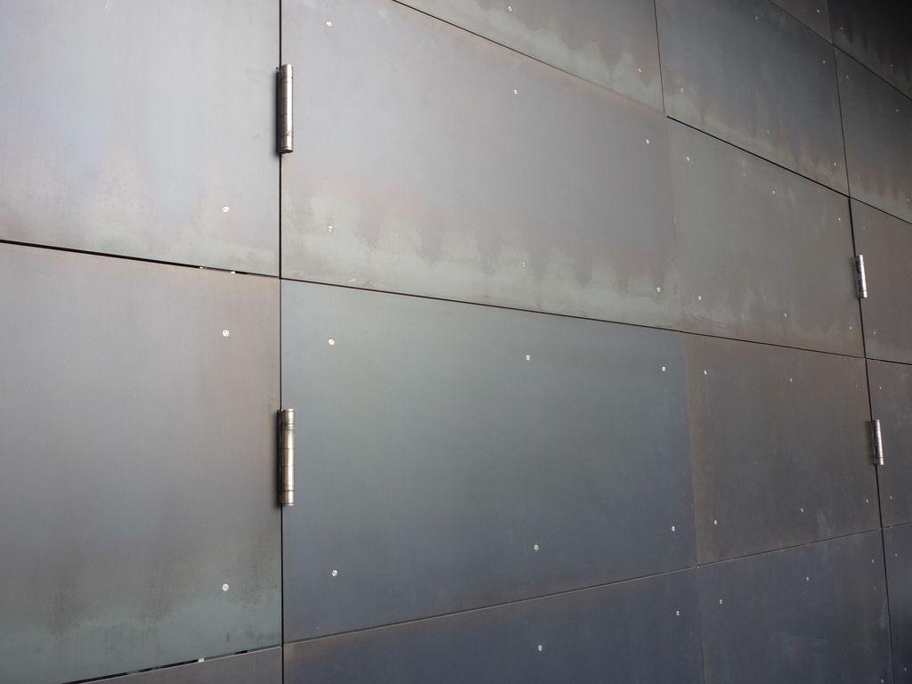 Pin By Helena Alexander On Detail Steel Cladding Metal Cladding Blackened Steel