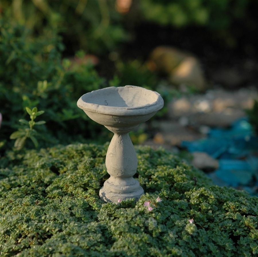 Fairy Homes and Gardens - Birdbath, $6.65 (https://www.fairyhomesandgardens.com/birdbath/)