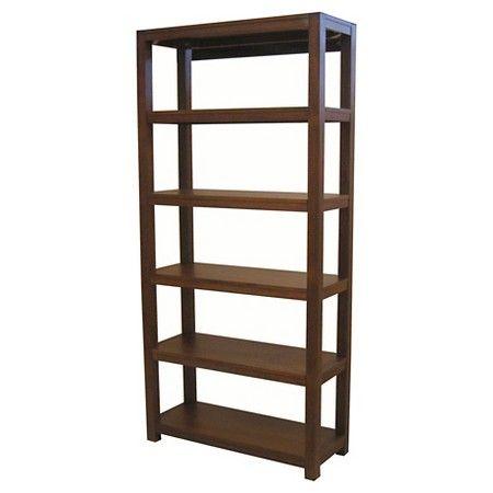 Parsons 5 Shelf Bookcase Threshold Target 5 Shelf Bookcase