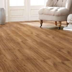 Home Decorators Collection 7.5 In. X 47.6 In. Perfect Oak Luxury Vinyl  Plank Flooring