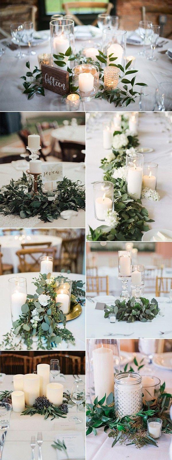 25 Budget Friendly Simple Wedding Centerpiece Ideas With Candles Emmalovesweddings Simple Wedding Centerpieces Elegant Wedding Centerpiece Wedding Centerpieces