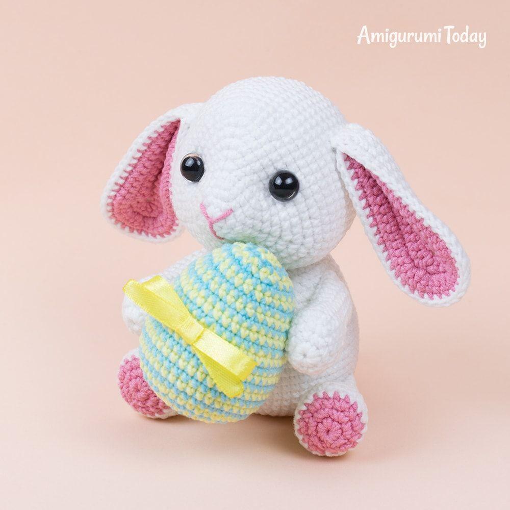 Amigurumi bunny in pajamas - Amigurumi Today - Amigurumi Crochet ... | 1000x1000