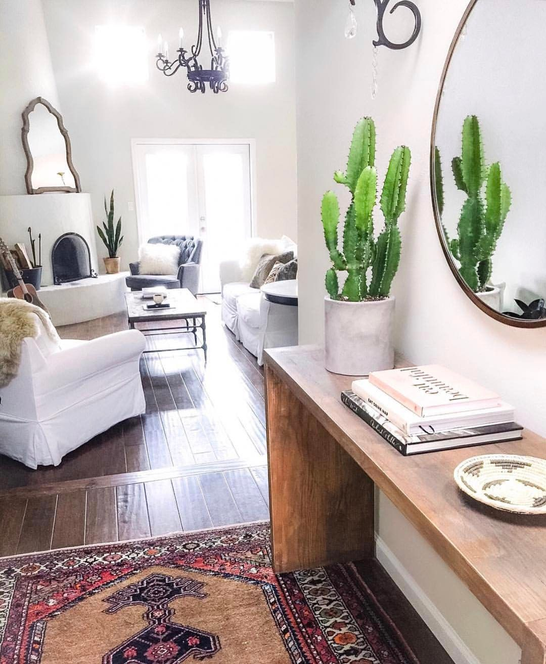 Southwest decor living room  Fireplace  Canyon Ranch House in   Pinterest  Instagram
