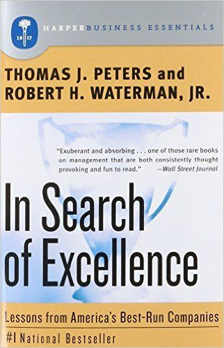 In search of excellence lessons from americas best run companies in search of excellence lessons from americas best run companies thomas j publicscrutiny Gallery