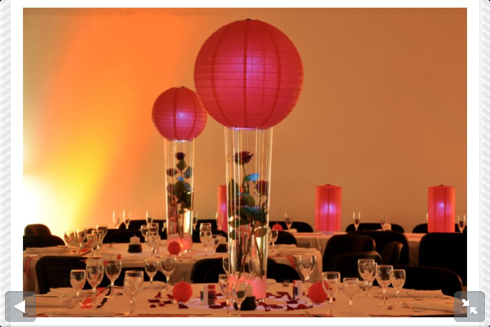 Deco Table Mariage Rouge Et Noir Choses Que J 39 Adore Pinterest Red Wedding And Weddings