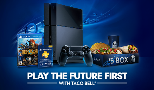 Taco Bell And Playstation Game Taco Bell Free Taco Company Meals