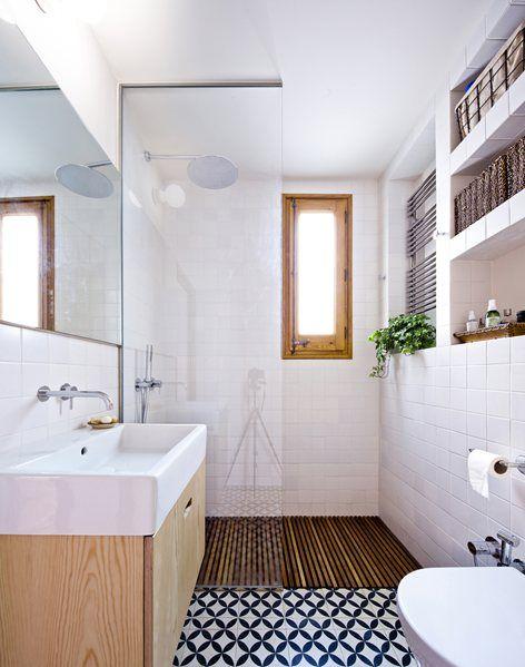 small apartment in gran via bach arquitectes spain bathroom humble homes