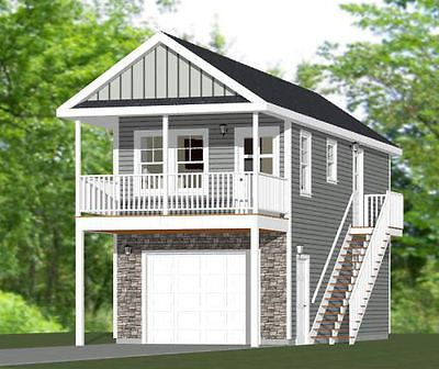14x32 Tiny House 567 Sq Ft Grey Model PDF Floor Plan