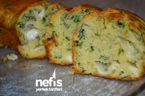 Ispanaklı Tuzlu Kek Tarifi #spinachmuffins