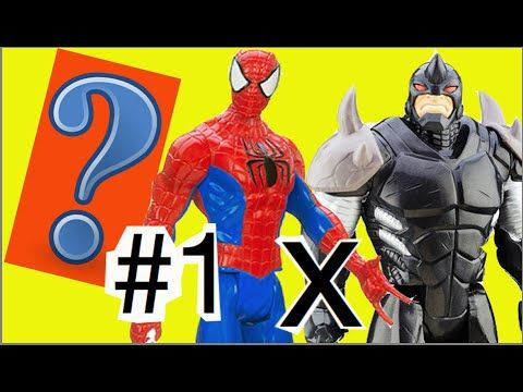 1 Max Steel abrindo: Rhino Rino Rinoceronte X Homem Aranha Spider ...