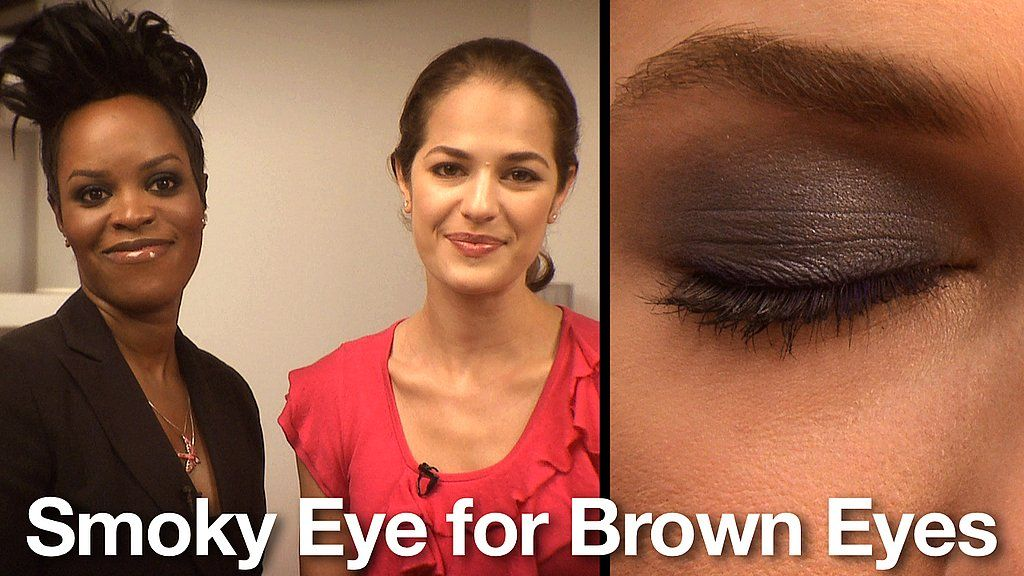 How to Get Smoky Eyes: Best Colors for Brown Eyes