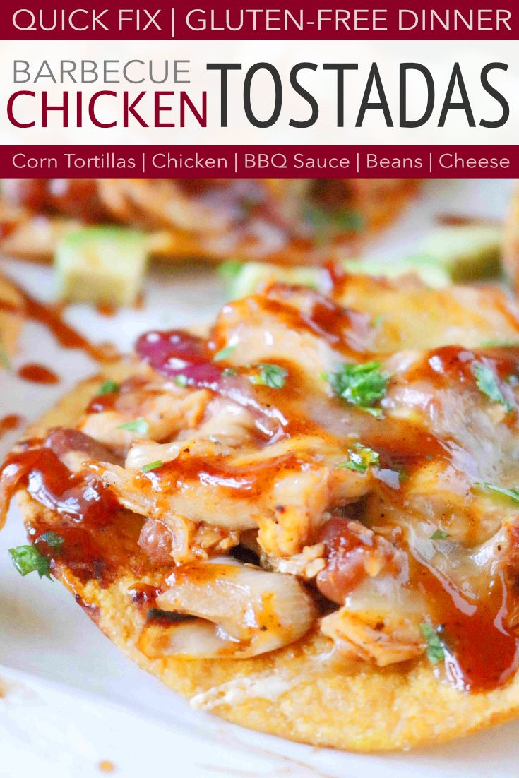 Cowboy Chicken Tostada images
