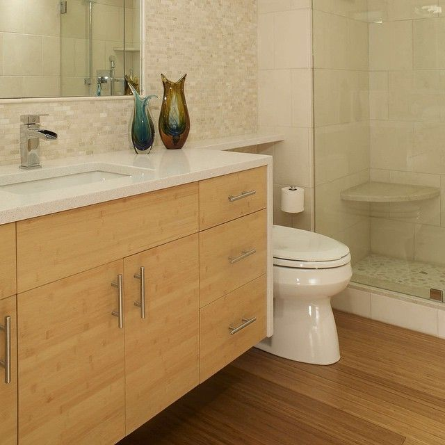 This Bathroom Packs A Lot Of Wow In A Little Space Floating