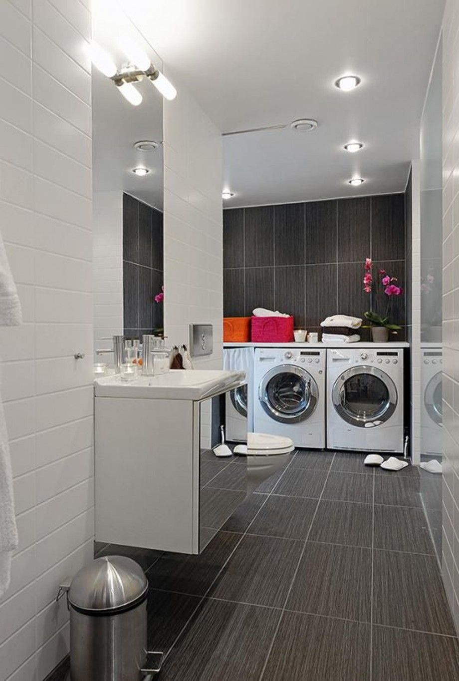 Basement Laundry Room Decorations Ideas And Tips With Images