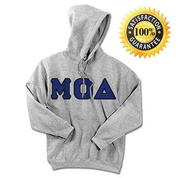 1-Mu Omicron Delta Standards Hooded Sweatshirt - $25.99