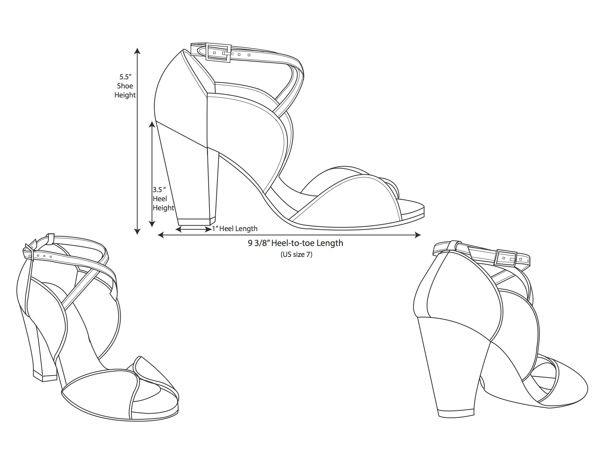 Women S Shoe Technical Fashion Flat Sketch Accessories Design Sketch Shoe Design Sketches Fashion Design Clothes