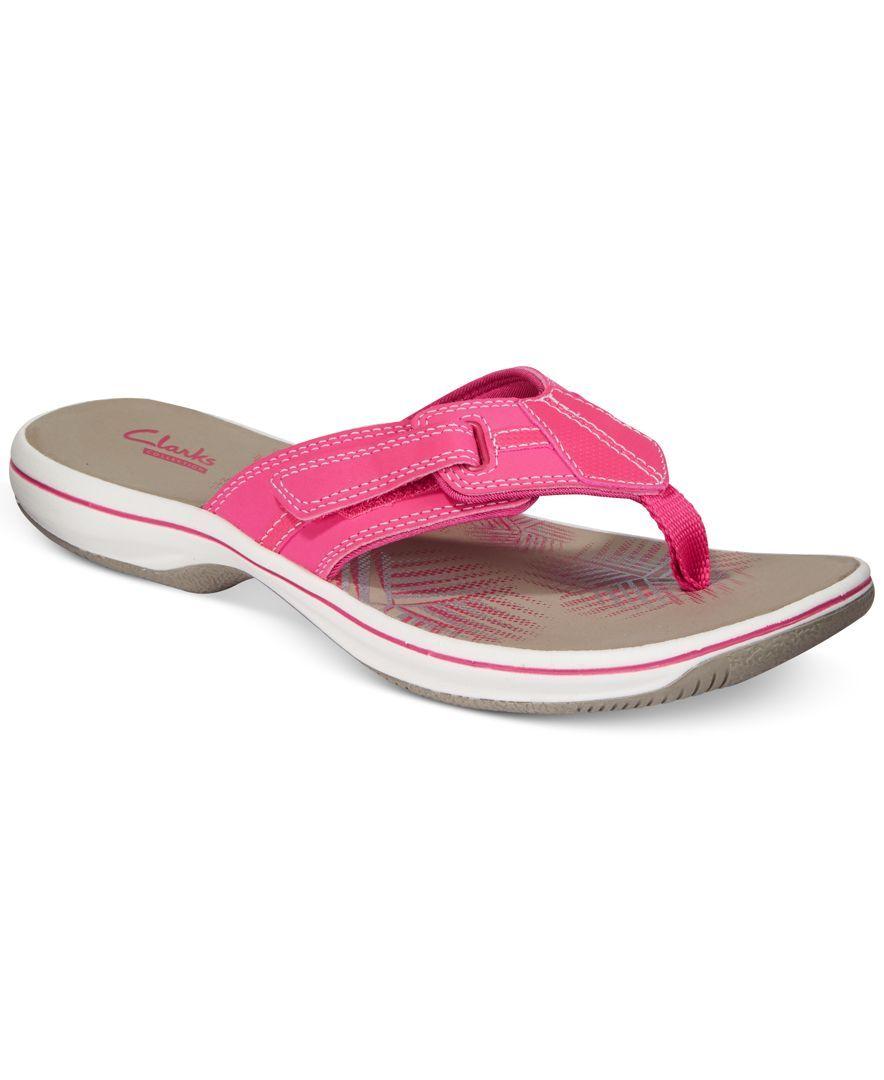 Clarks Collection Women's Brinkley Bree Flip-Flops