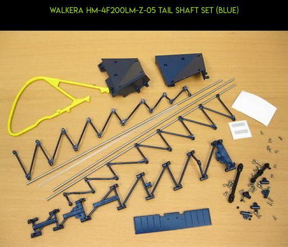Walkera HM-4F200LM-Z-05 Tail shaft set (blue) #products #fpv #parts #technology #kit #plans #walkera #4f200lm #drone #camera #racing #shopping #gadgets #tech