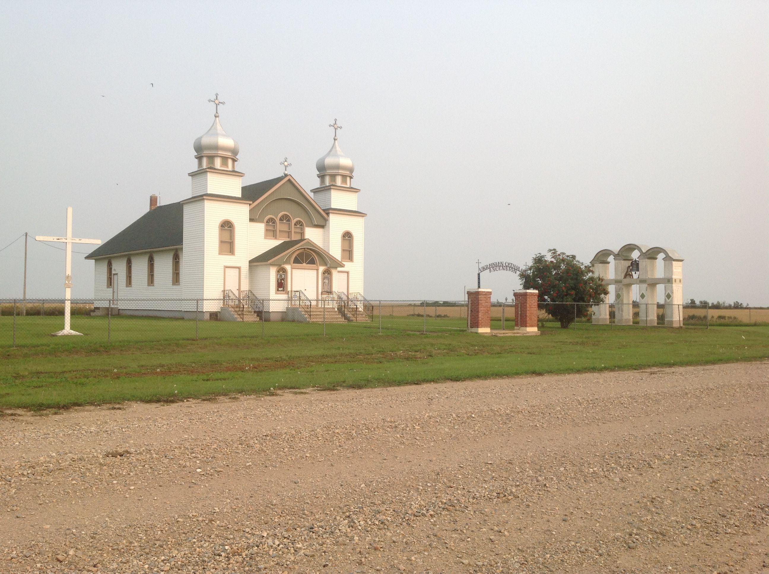 ukrainian catholic church laniwci sask canadian prairie