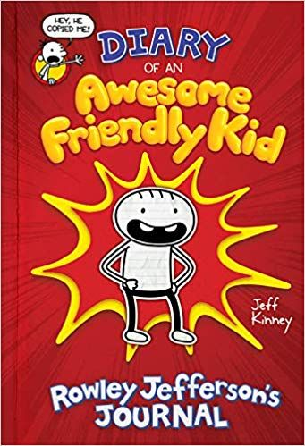 Book diary of an awesome friendly kid