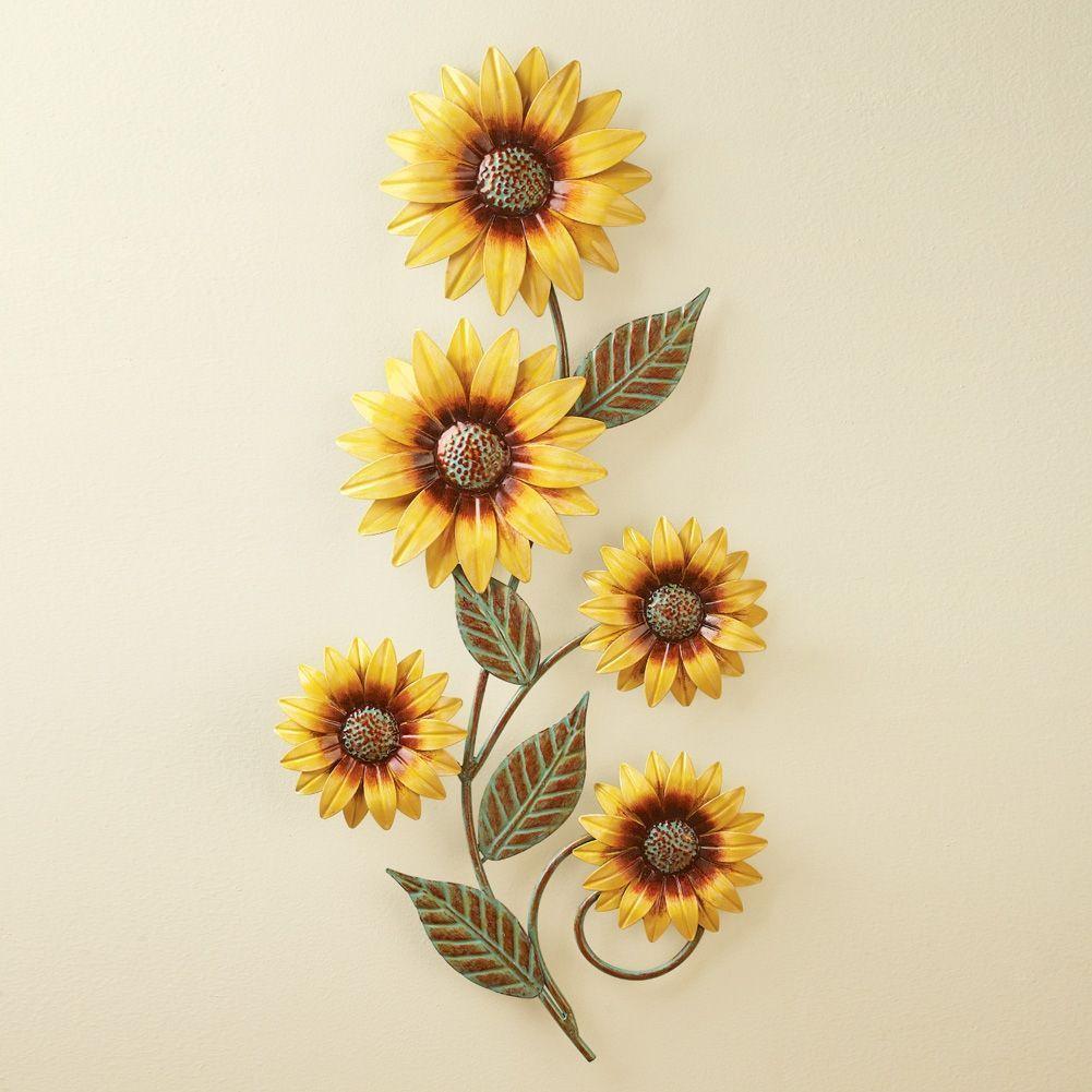 Dimensional Sunflowers Wall Art | Home decor | Pinterest | Cozy ...