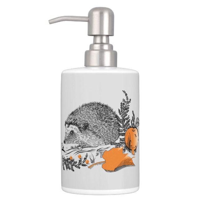 Hedgehog soap dispenser laminate saw blade