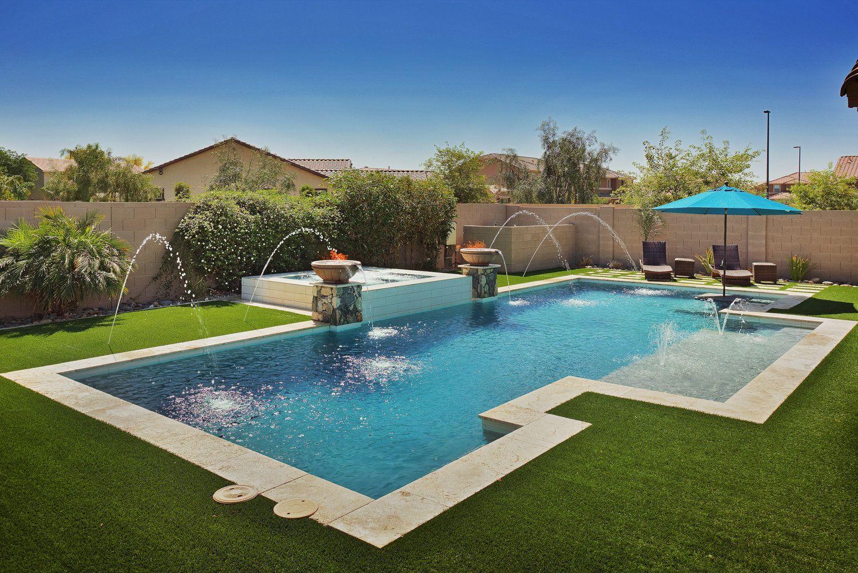Geometric Swimming Pool Designs Presidential Pools Spas Patio Of Arizona Swimming Pools Presidential Pools Rectangular Swimming Pools