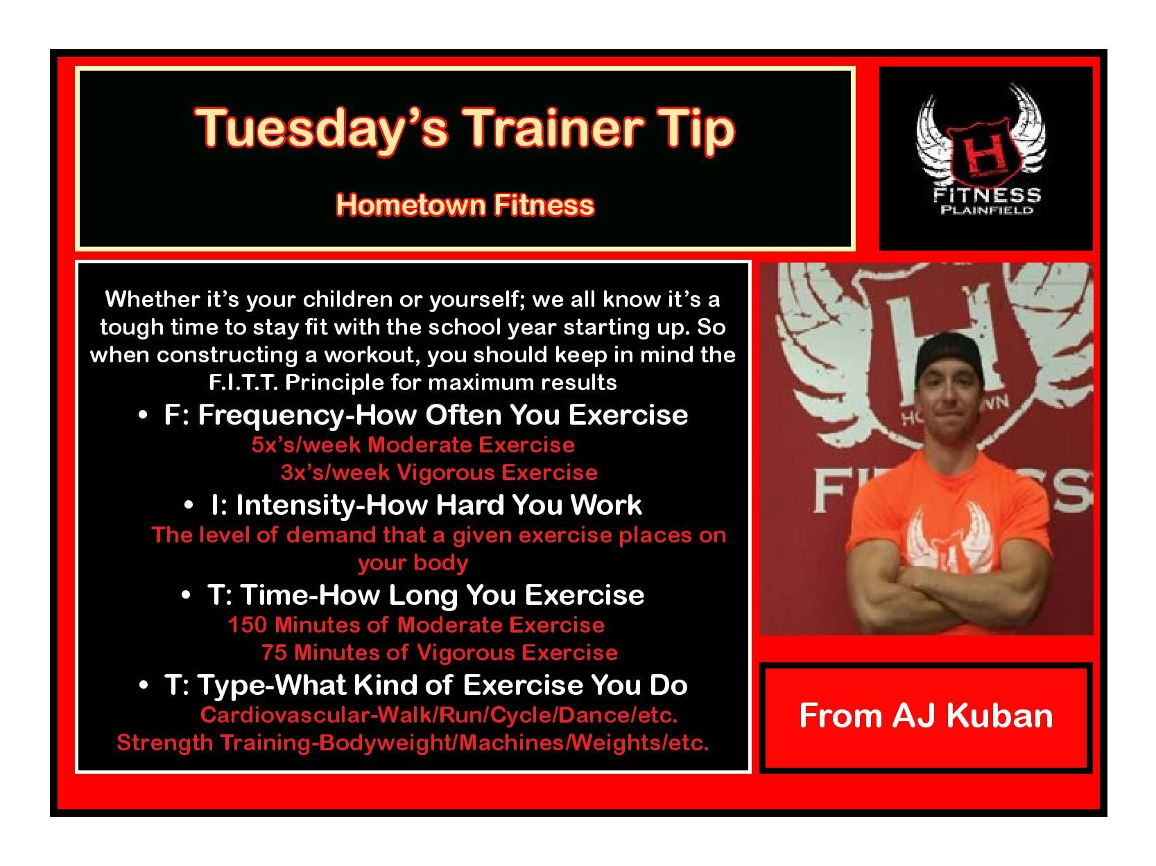 Pin By Hometown Fitness On Tuesday S Trainer Tips Fitness Advice Stay Fit Workout