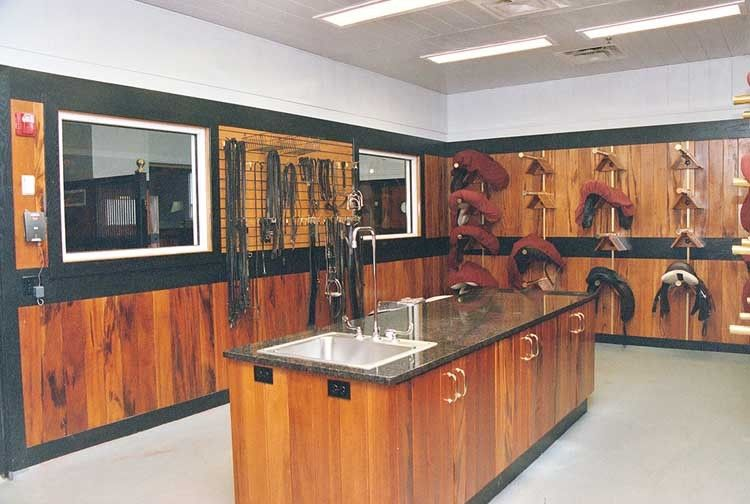 Beautiful Tack Room Very Similar To The Design I Am Looking At