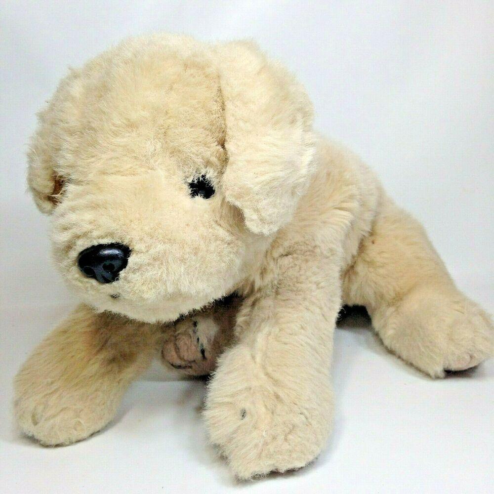 Rare 1994 Ty Golden Retriever Plush Dog Large 17 Labrador Stuffed
