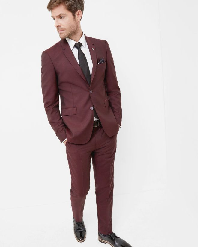 79a89b4f17e78 Debonair jacket - Maroon
