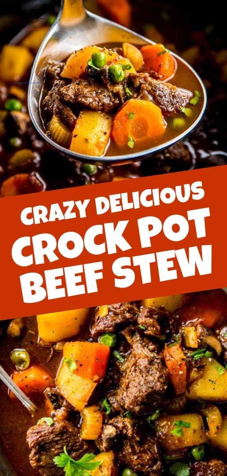Crock Pot Beef Stew Recipe Savory Nothings Simplehealthydinner In 2020 Crockpot Recipes Beef Easy Beef Stew Recipe Crockpot Recipes Beef Stew