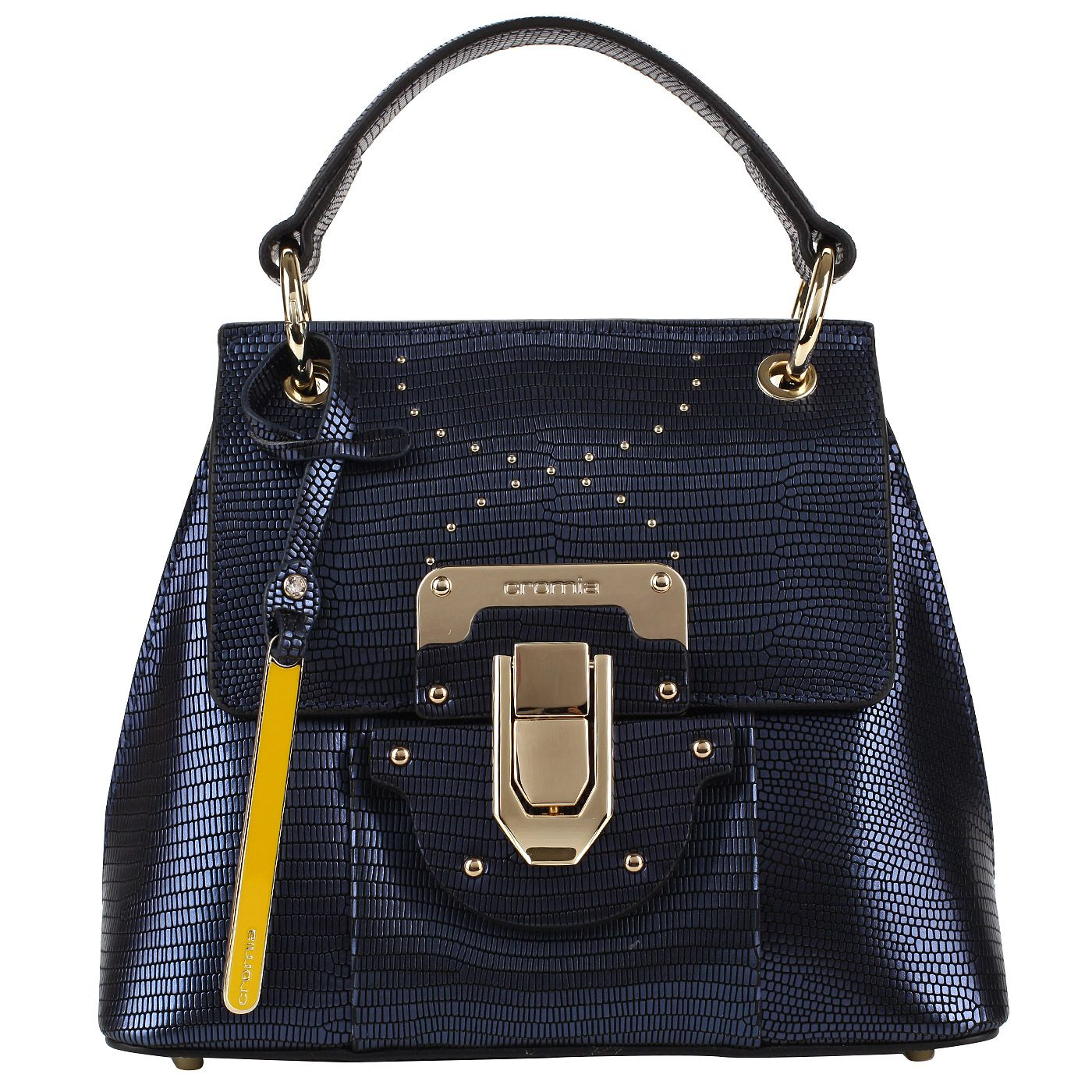 81aa16c4ffe9 Кожаная сумочка со съемным ремешком Cromia Yvon   Новинки. Сумки 2019