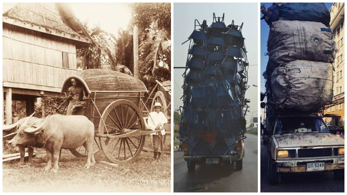 Thailand Past And Present Transport In And Present