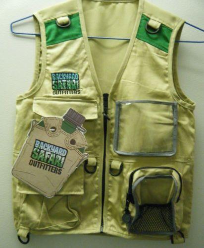 Backyard Safari Outfitters Childrenu0027s Cargo Vest Diego Costume | EBay