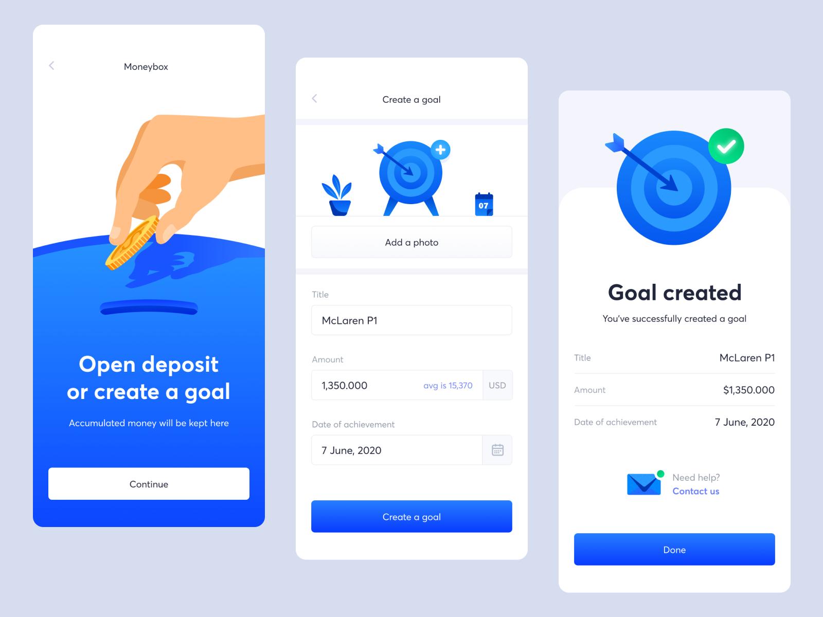 Bank App Create A Goal Banking App Goals Creating Goals