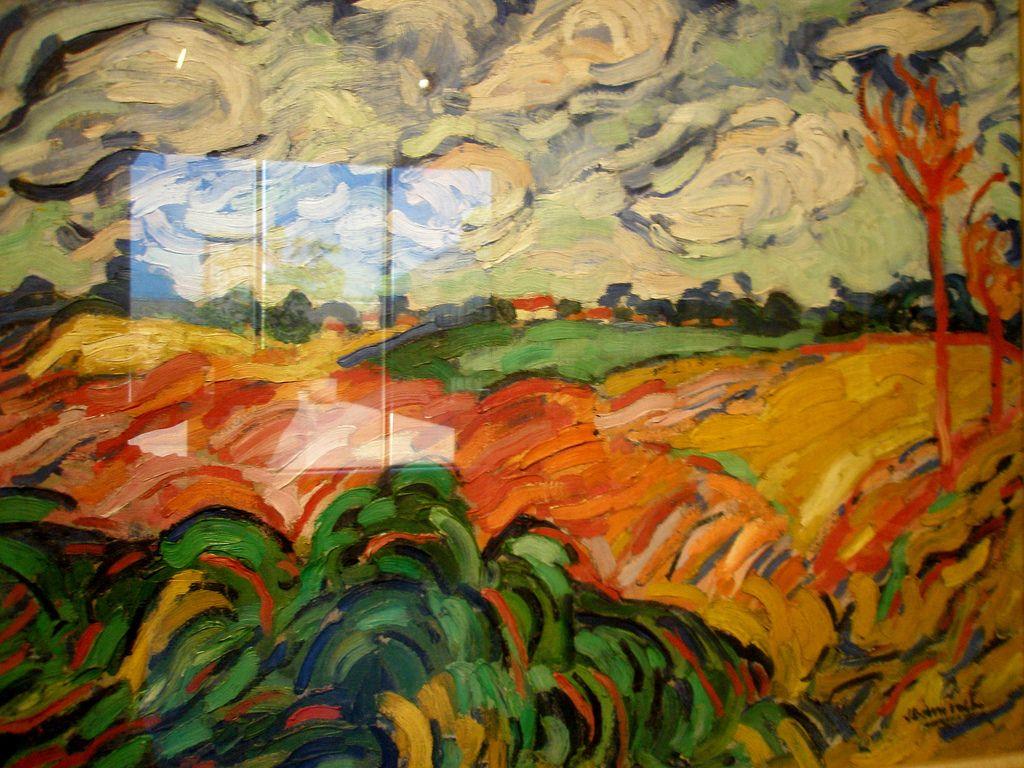 Maurice de Vlaminck \'The Wheat Field\' (Champs de Ble), ca. 1906 ...