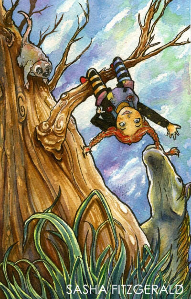 Pippi Longstocking Book Cover by SashaFitzgerald on @DeviantArt