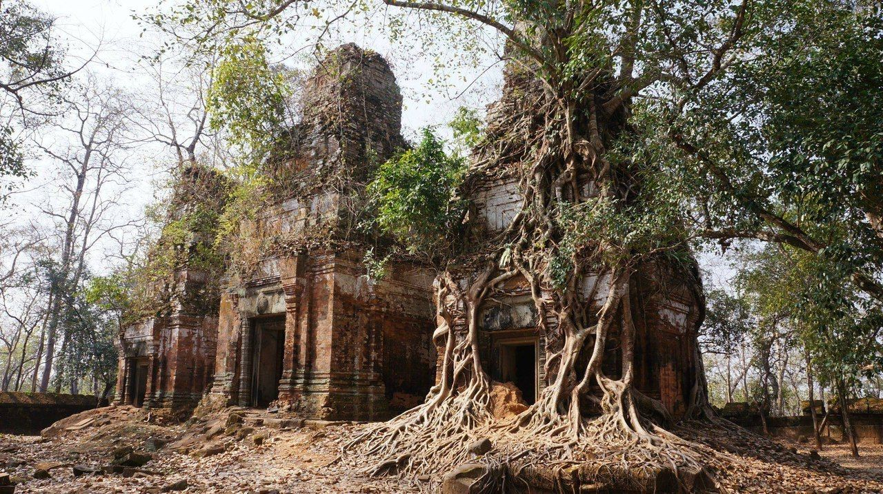 Mysterious and lost in the jungles of Cambodia treasure