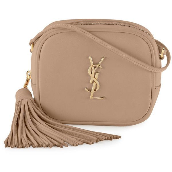 07e11b4211cf Saint Laurent Monogram Blogger Crossbody Bag (1 461 AUD) ❤ liked on  Polyvore featuring bags