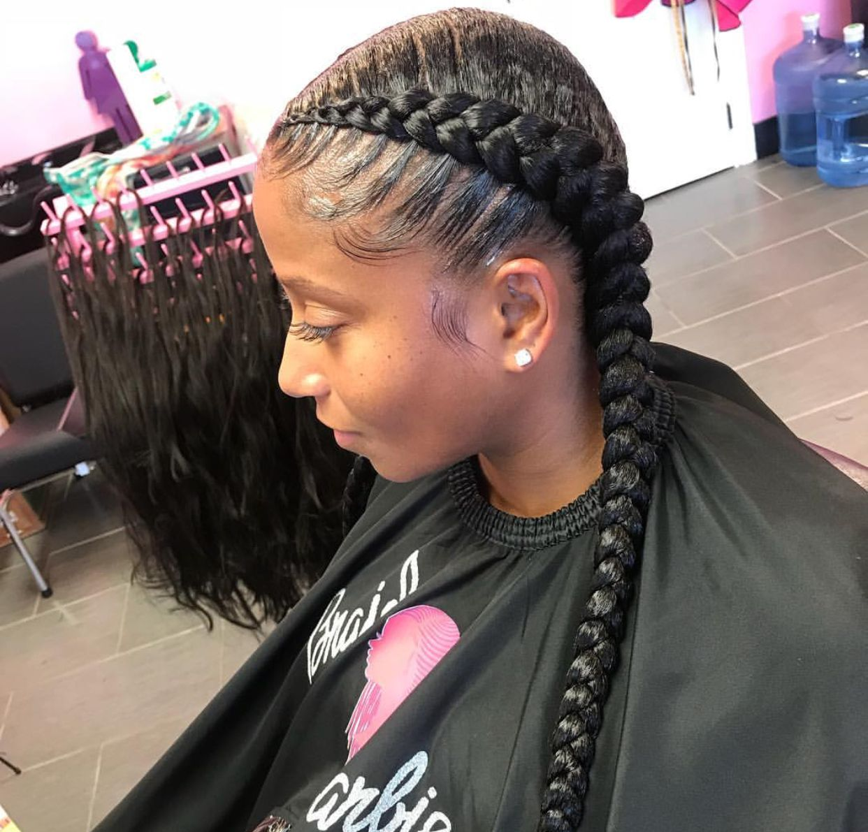 Pin Shesoglorious Fw My Page For More Live Pins Two Braid Hairstyles French Braid Hairstyles Braided Hairstyles