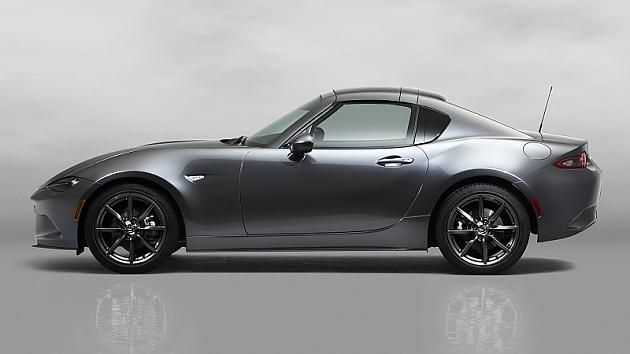 Mazda MX-5 RF: Mazda meets Mustang: So haben Sie den MX-5 noch nie gesehen - FOCUS Online