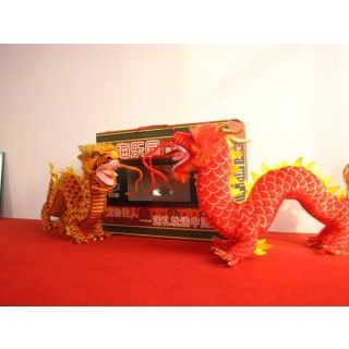 Red China Dragon Soft Toy