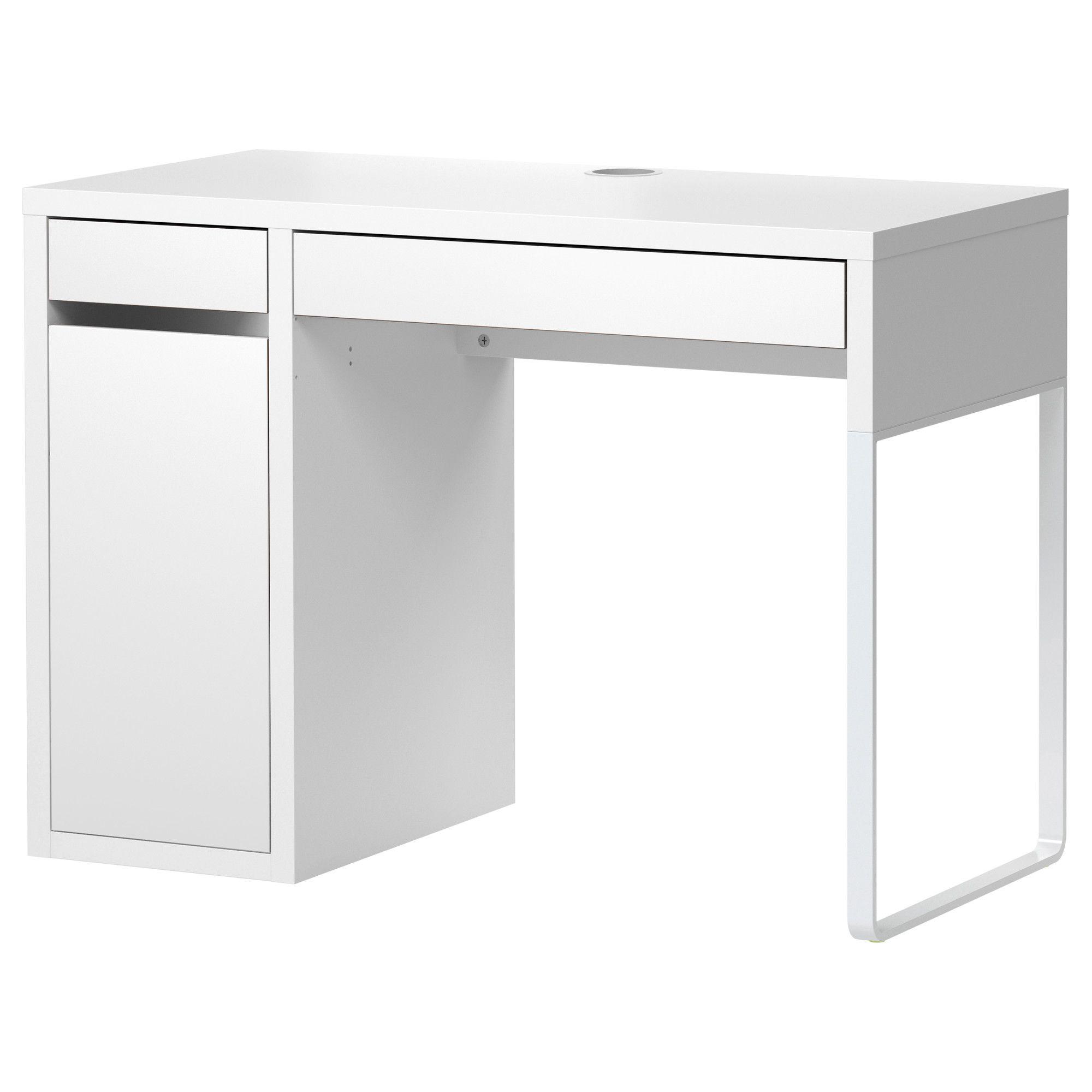 ikea office drawers. MICKE Desk - Black-brown IKEA Ikea Office Drawers X
