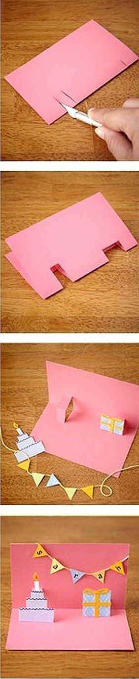 Easy Pop Up Card Tutorial
