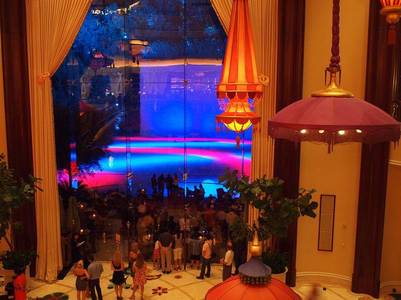 Light Show At Parasol Down Bar Wynn Las Vegas Favorite Places I