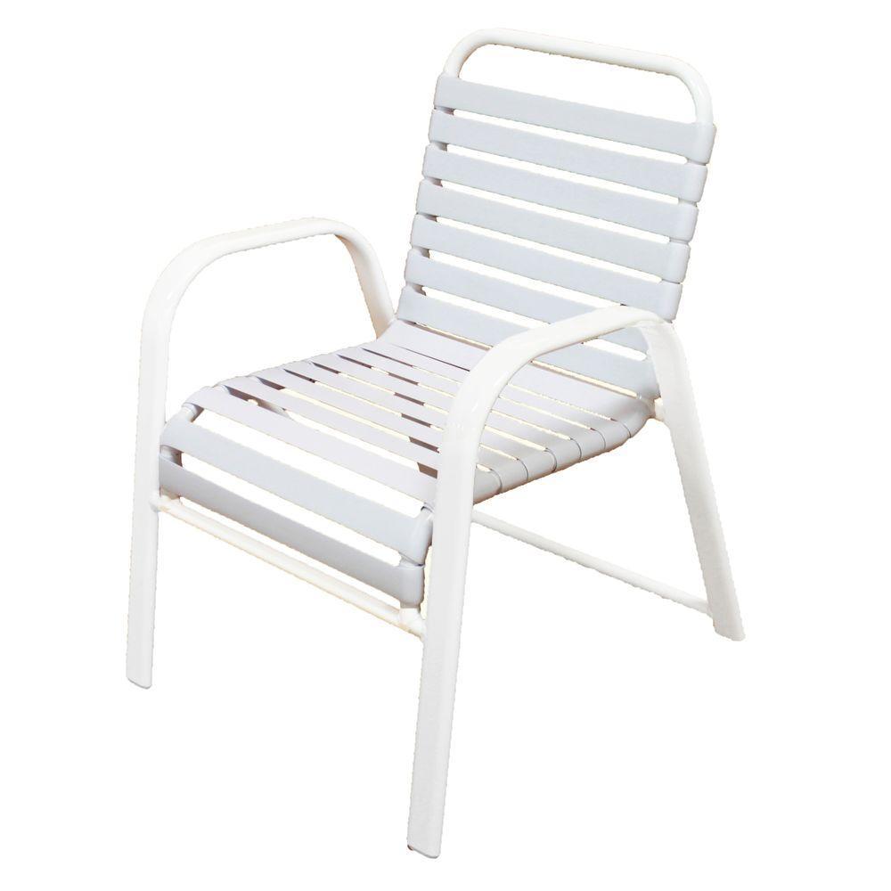 grade aluminum patio dining chair