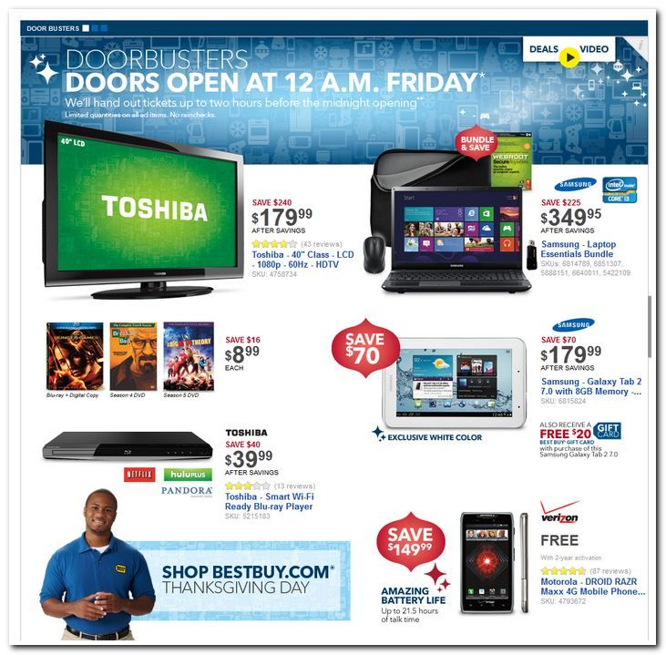 Best Buy Black Friday Ad Has Been Released See It Here Blackfriday Bestbuy Black Friday Ads Cool Things To Buy Black Friday Preview